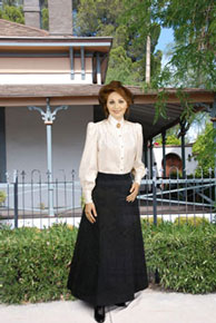 Ladies Old West Skirts & Bottoms