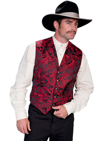Men's Western Dress Vests