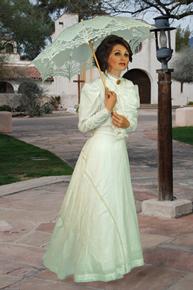 Ladies 39 old west wedding dresses old west clothing for Old western wedding dresses
