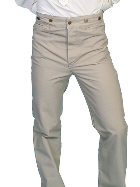 3fa29f18ab3 Scully Frontier Canvas Duckins Pant - Sand - Men s Old West Pants ...