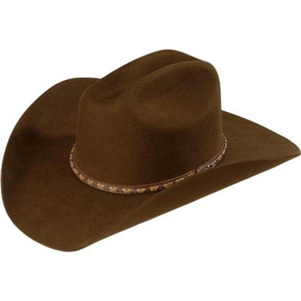 7a007d74 Justin Plains 2X Cowboy Hat - Brown