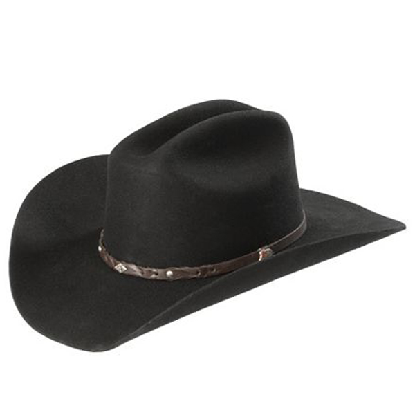 Justin Lone Star 2X Cowboy Hat - Black - Cowboy Hats  e81ee1cd113d