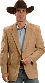 Circle S Camel Galveston Western Sport Coat