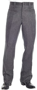 Circle S Boise Charcoal Heather Western Suit Pant