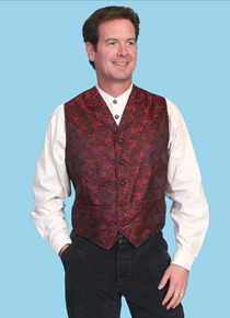 Scully Red Dragon Vest