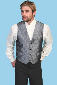 Scully Silver Grey Vest