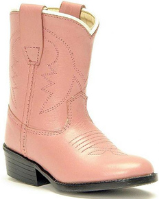 Jama Old West Pink Cowboy Boots - Infant's