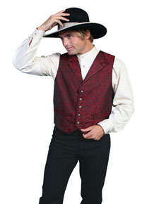 Scully Classic Old-Time Vest – Red