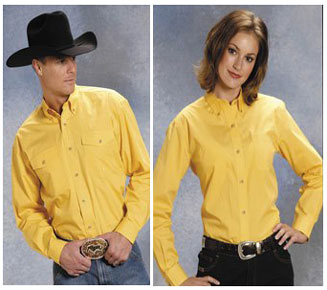 Spur Western Wear Mens Ladies Matching Western Shirts