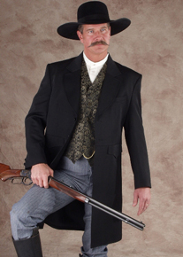 Men's Old West Frock Coats - Old West Clothing | Spur Western Wear