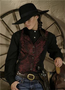Ladies  Old West Vests - Old West Clothing  e52852d3357