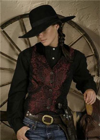 Ladies Old West Vests and Jackets - Old West Clothing | Spur Western Wear