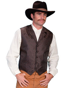Men's Big & Tall Old West Vests