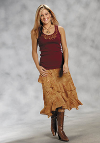 Ladies' Western Skirts & Dresses - Ladies' Western Jeans, Skirts & Dresses | Spur Western Wear