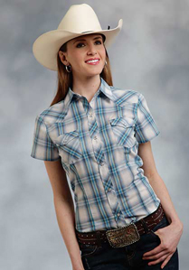Ladies Short Sleeve Fashion Western Shirts - Ladies' Western Shirts | Spur Western Wear