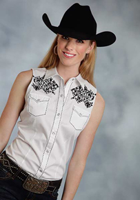 Ladies' Sleeveless Western Shirts - Ladies' Western Shirts | Spur Western Wear