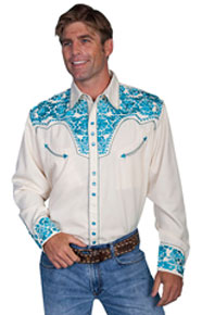 Scully Men's Retro Western Shirts | Spur Western Wear