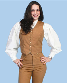 Scully Ladies' Old West Vests | Spur Western Wear