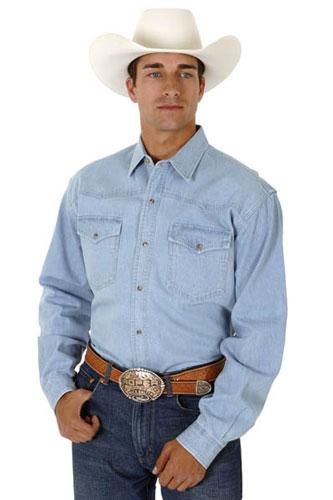 9941df120b Roper Denim Western Shirt - Blue - Men s Western Shirts