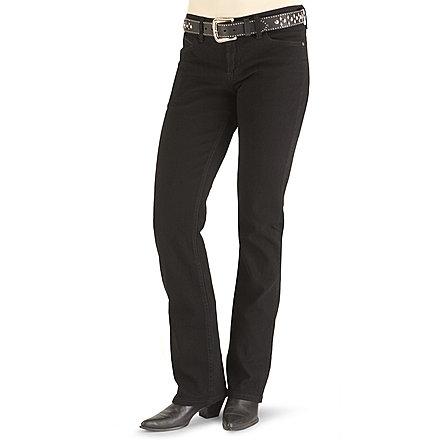 Wrangler Q Baby Ultimate Riding Slim Fit Jeans Black