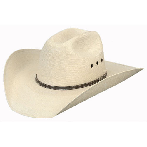 Atwood Marfa 7X Palm Leaf Cowboy Hat with Eyelets - Cowboy Hats ... a3074086d056