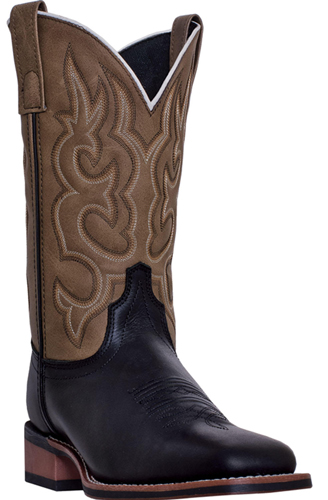 Laredo Collared Western Boot - Brown - Men's Western Boots | Spur Western Wear
