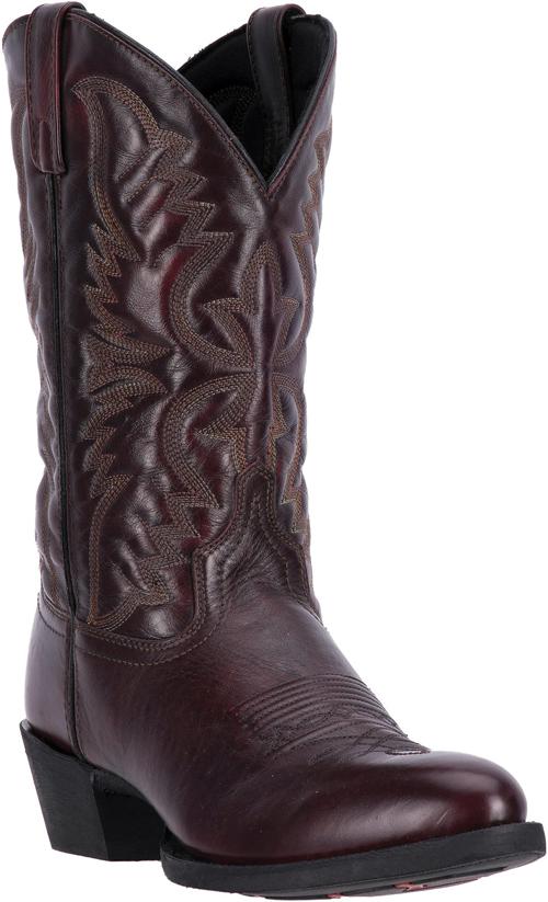Laredo Birchwood Western Boot Black Cherry Men S