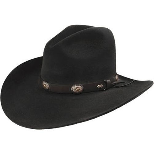 cdb27f06ee621 Bailey Tombstone 2X Cowboy Hat - Black - Cowboy Hats