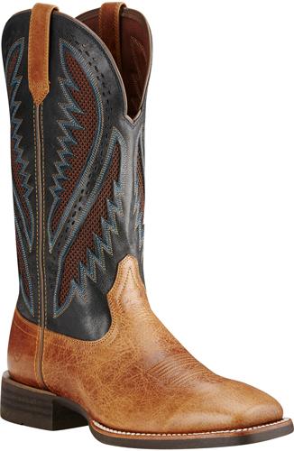02905e2da78 Ariat® Quickdraw VentTEK™ Western Boot - Gingersnap/After Dark
