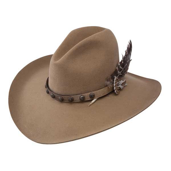 Stetson Broken Bow 4X Buffalo Fur Gus Cowboy Hat - Cowboy Hats ... fac1a37d86f