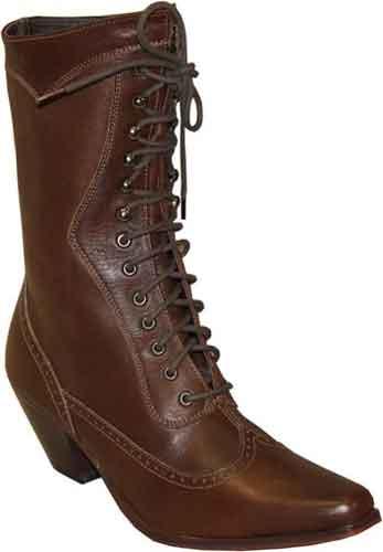 9780193d992ba Abilene Vintage Lace Up Boot - Brown - Ladies