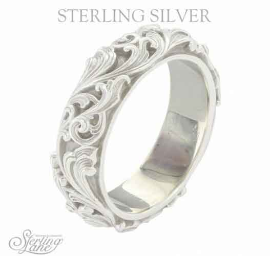 Montana Silversmiths Sterling Lane Forever And Ever Band Western Jewelry Spur Wear