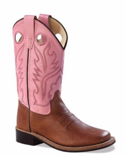 a1c077db6b3c8 Jama Old West Cowgirl Boot - Pink - Kids'