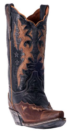e88974031c7 Dan Post Amelia Western Boot - Black - Ladies