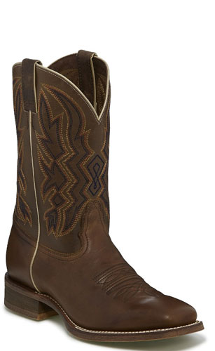 Nocona Deputy Western Boot - Brown - Men's Western Boots | Spur Western Wear