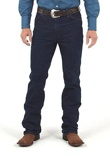 Wrangler Cowboy Cut Regular Fit Stretch Denim Jeans - Prewash Indigo - Men's Western Jeans | Spur Western Wear