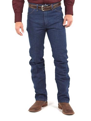 44c14f6b Wrangler Cowboy Cut Slim Fit Jeans - Rigid Indigo - Men's Western Jeans |  Spur Western Wear