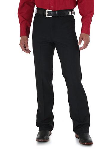 Wrangler Wrancher Dress Jeans Black Men S Western