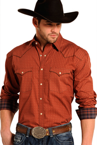 Men's Long Sleeve Fashion Western Shirts - Men's Western Shirts | Spur Western Wear