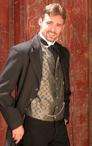 Men's Old West Vests - Old West