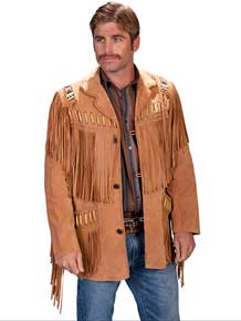 Men's Western Leather Coats & Jackets
