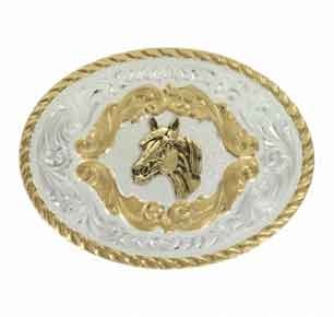 Montana Silversmiths®  Horse Head Buckle