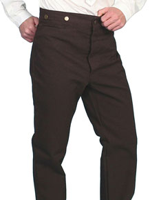 Scully Frontier Canvas Duckins Pant - Walnut