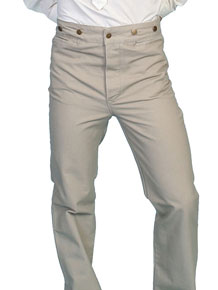Scully Frontier Canvas Duckins Pant - Sand