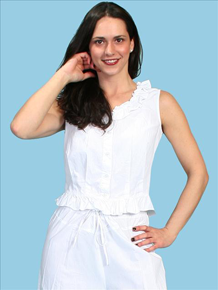 Scully Camisole - White