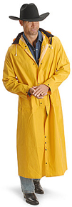 M & F Men's Yellow Saddle Slicker