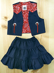 Kiddie Korral 2 Piece Denim Outfit - Toddlers' Western Clothing | Spur Western Wear