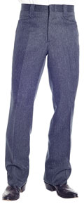 Circle S Western Suit Pant - Heather Navy - Men's Western Suit Coats, Suit Pants, Sport Coats, Blazers | Spur Western Wear