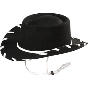 Bailey Childrens Woody Black Felt Hats