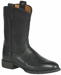 Ariat® Heritage Roper Western Boot - Black - Ladies' Western Boots | Spur Western Wear